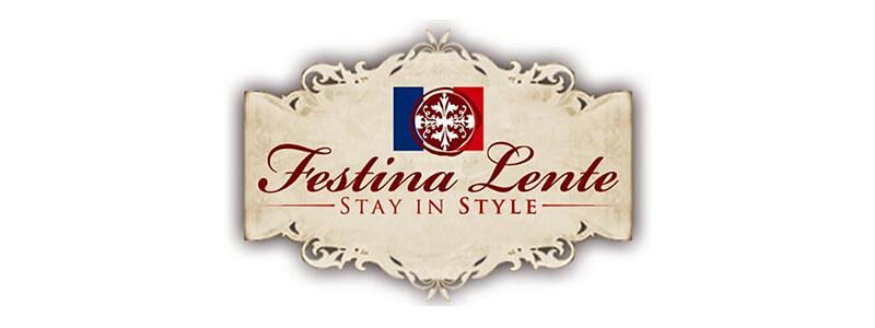Hotel Festina Lente Logo