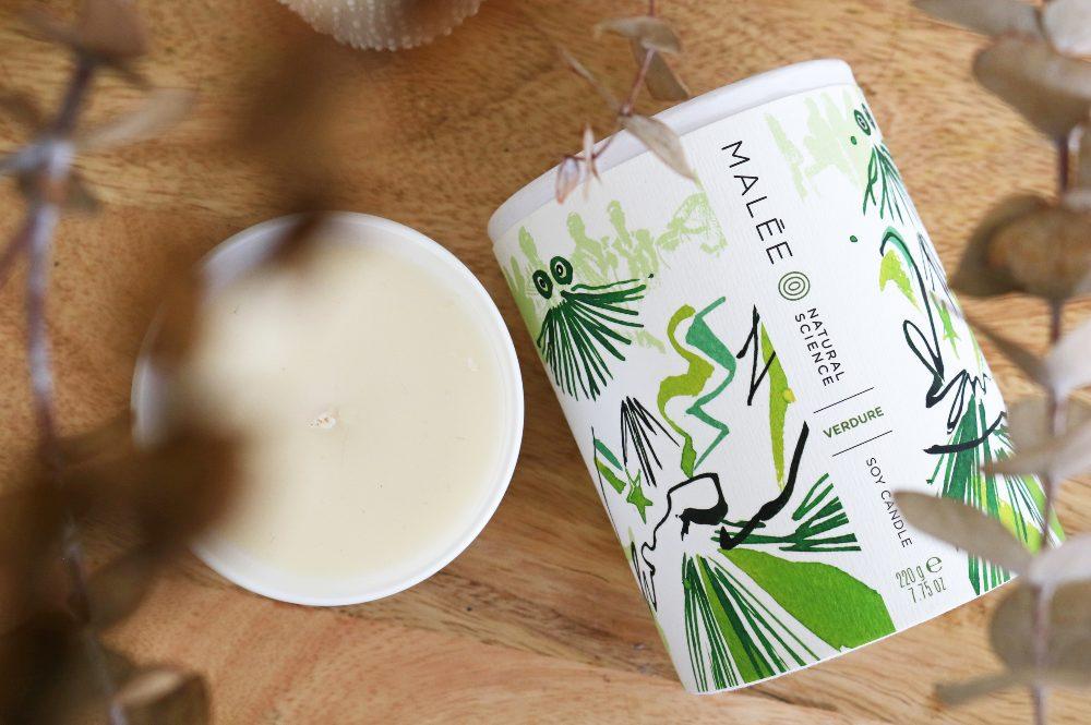 Malée Natural Science Verdure 100% Soybean Candle